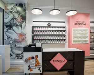 A new look for ZONIOU perfumers